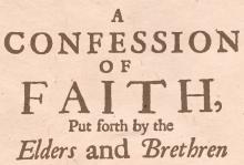 Reformowani Baptyści Zielona Góra: Wyznania wiary